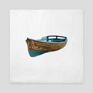 Wooden Boat Queen Duvet