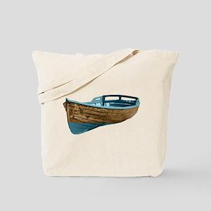 Wooden Boat Tote Bag