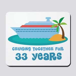 33rd Anniversary Cruise Mousepad