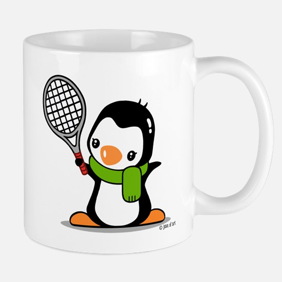 Tennis Penguin Mug Mugs