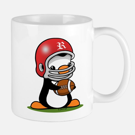 Football Penguin Mug Mugs