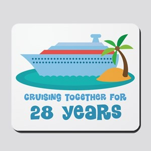 28th Anniversary Cruise Mousepad