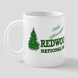 Visit Beautiful Redwood Natio Mug
