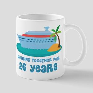 26th Anniversary Cruise Mug