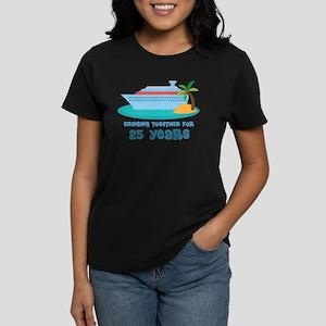 25th Anniversary Cruise Women's Dark T-Shirt