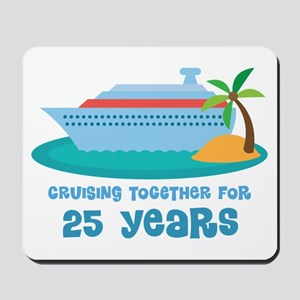 25th Anniversary Cruise Mousepad