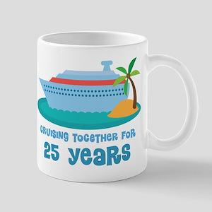 25th Anniversary Cruise Mug