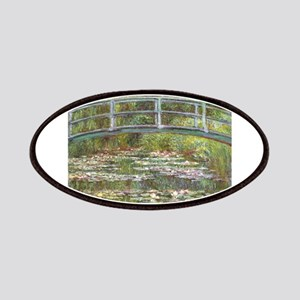 Monet Bridge over Water Lilies Patches