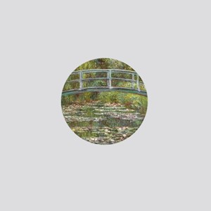 Monet Bridge over Water Lilies Mini Button