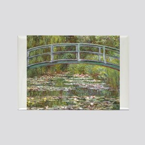 Monet Bridge over Water Lilies Magnets