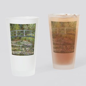 Monet Bridge over Water Lilies Drinking Glass