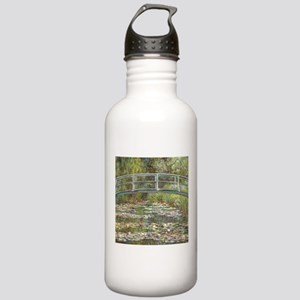 Monet Bridge over Water Lilies Water Bottle