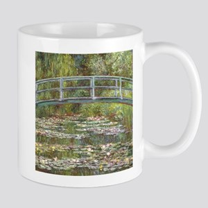 Monet Bridge over Water Lilies Mugs