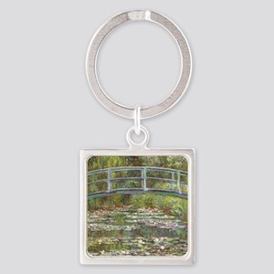 Monet Bridge over Water Lilies Keychains