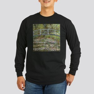 Monet Bridge over Water Lilies Long Sleeve T-Shirt