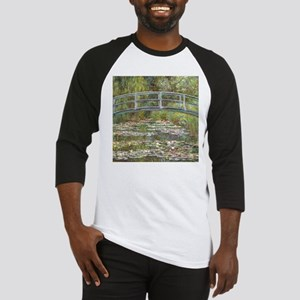 Monet Bridge over Water Lilies Baseball Jersey