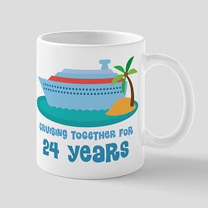 24th Anniversary Cruise Mug