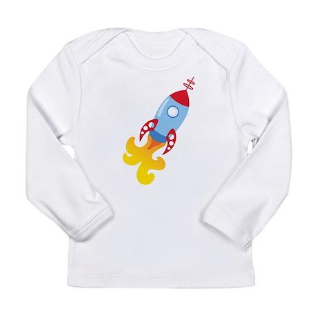 Rocket Ship Long Sleeve T-Shirt
