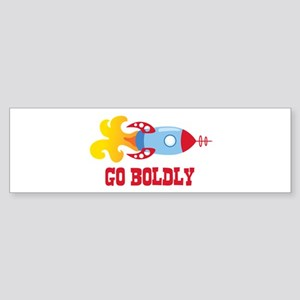 GO BOLDLY Bumper Sticker