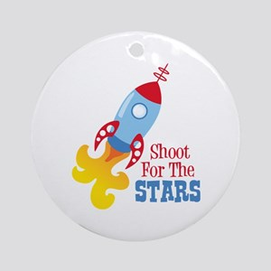Shoot For The STARS Ornament (Round)