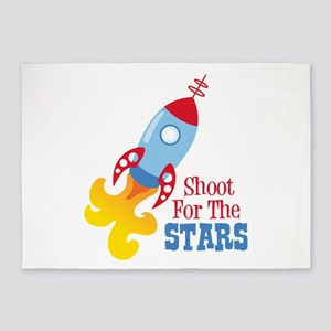 Shoot For The STARS 5'x7'Area Rug