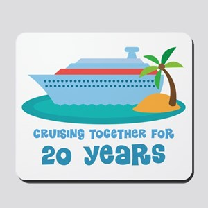 20th Anniversary Cruise Mousepad