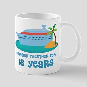 18th Anniversary Cruise Mug