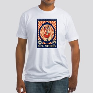 SGT. Stubby Fitted T-Shirt