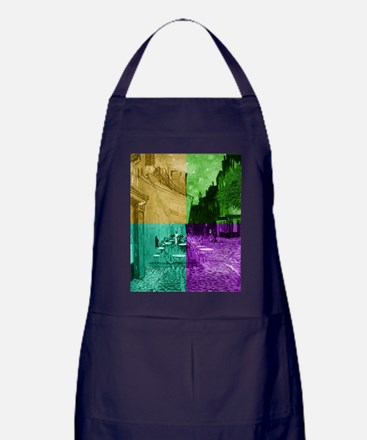 Cafe Terrace at Night by Van Gogh (4C Apron (dark)