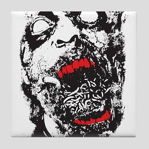 Zombie Tile Coaster