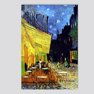 Cafe Terrace at Night by  Postcards (Package of 8)