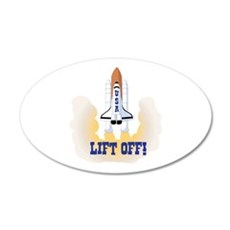 LIFT OFF! Wall Decal