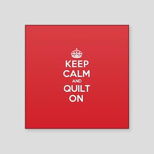 Keep Calm Quilt Sticker