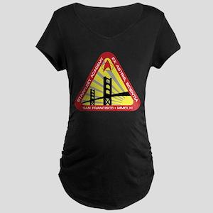 STAR TREK TNG SFA Maternity Dark T-Shirt