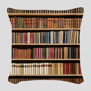 Books On A Bookshelf, Bookcase, Bookcase Woven Thr