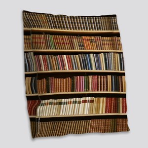 Books On A Bookshelf, Bookcase, Bookcase Burlap Th