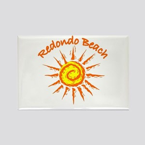 Redondo Beach, California Rectangle Magnet