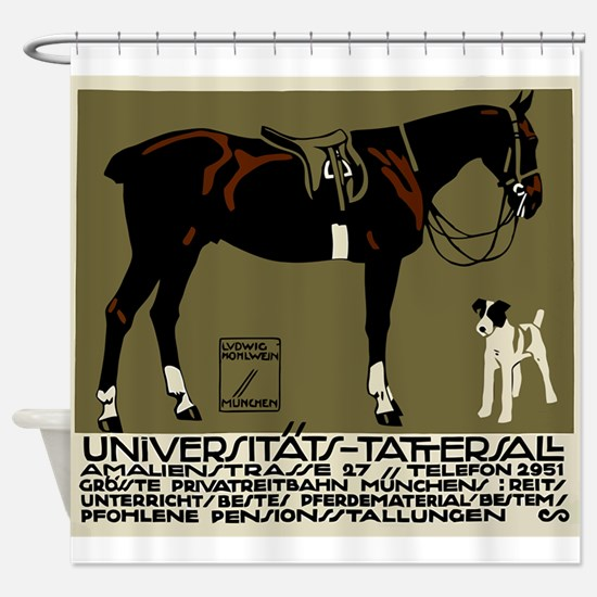 1912 Ludwig Hohlwein Horse Riding Poster Art Showe