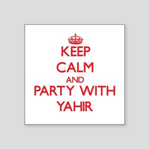 Keep Calm and Party with Yahir Sticker