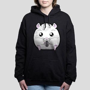 regular_all_white_winter_russian Hooded Sweatshirt