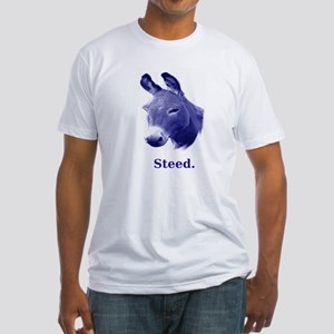 Democratic Steed Fitted T-Shirt