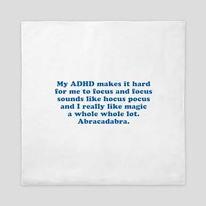 ADHD Magic Hocus Pocus Queen Duvet