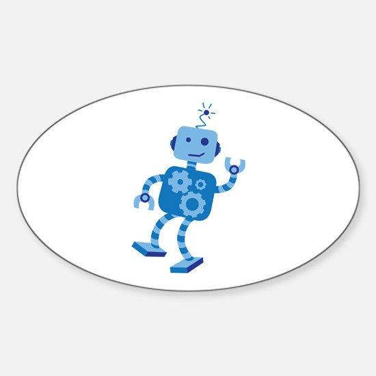 Dancing Robot Decal