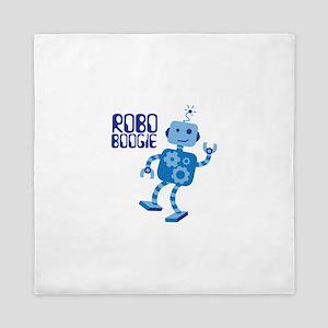 ROBO BOOGIE Queen Duvet