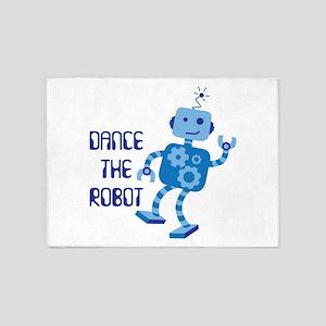 DANCE THE ROBOT 5'x7'Area Rug