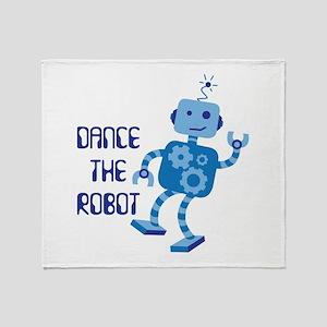 DANCE THE ROBOT Throw Blanket