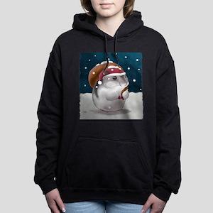 hamster_final_santa_5_medium Hooded Sweatshirt