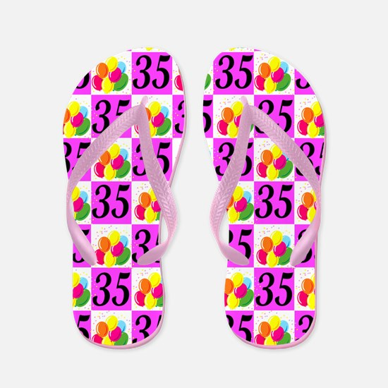CHARMING 35TH Flip Flops