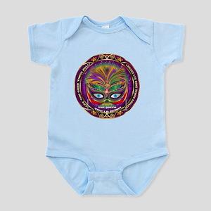 Mardi Gras Queen 8 Infant Bodysuit