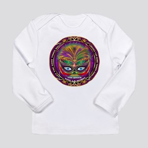 Mardi Gras Queen 8 Long Sleeve Infant T-Shirt